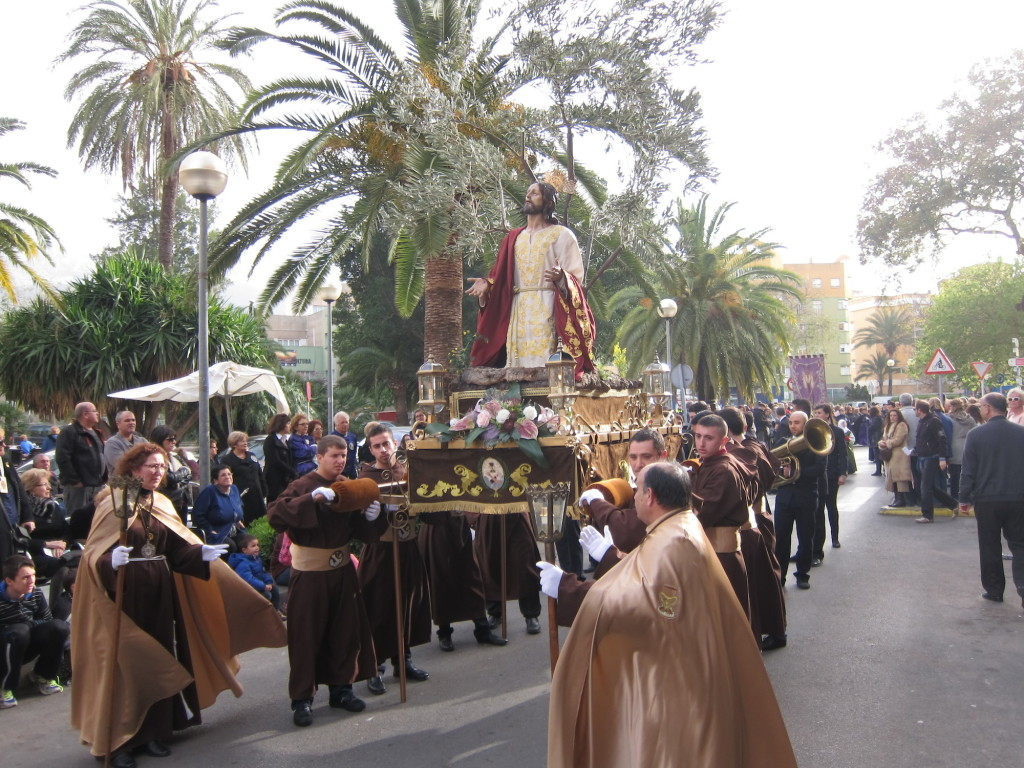 Spanish Easter Procession in Denia