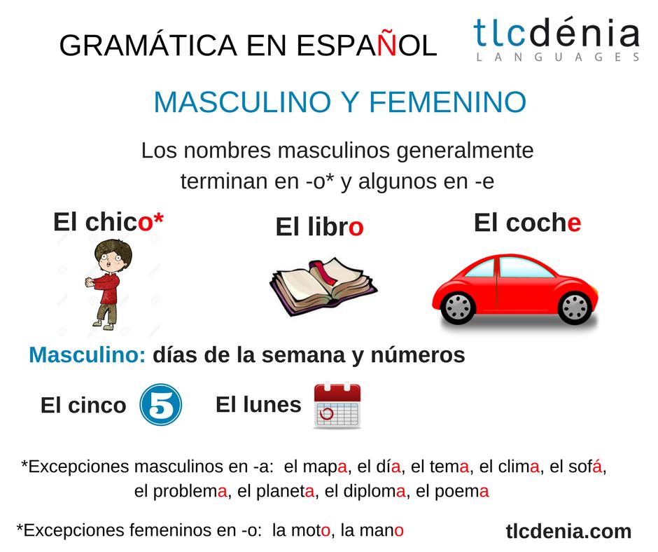 masculine-nouns-spanish