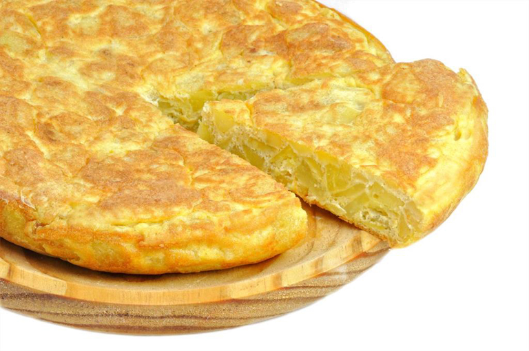 Spanish potato omlette