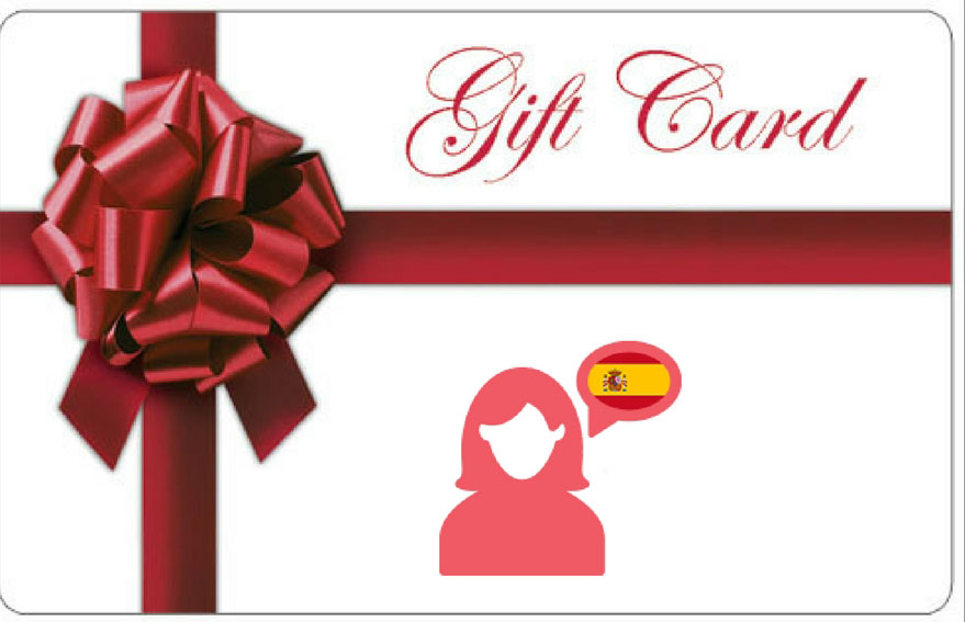 Spanish-course-gift-card