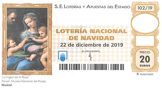 Spanish Christmas lottery tenth