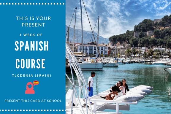 Spanish Intensive course Gift Card