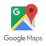 School location on Google maps