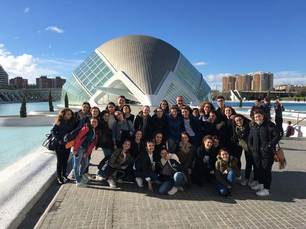 Spanish for school groups excursion to Valencia