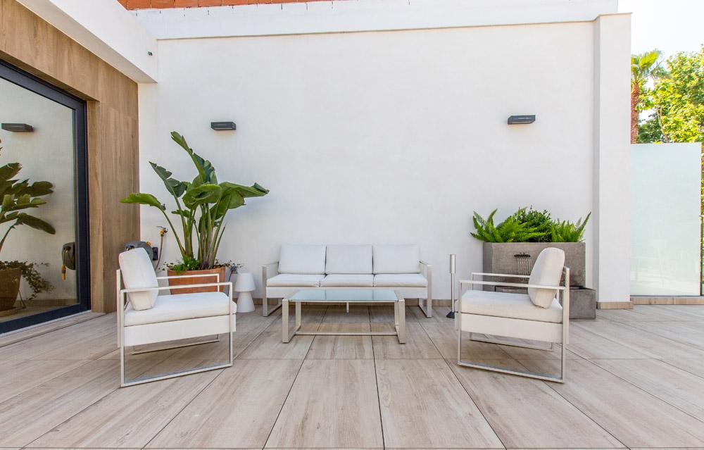 school spanish terrace sofas