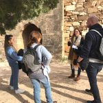 spanish course visit to the castle