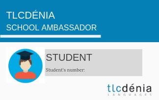 tlcdenia ambassador student card