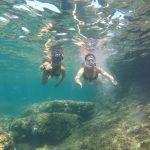 étudiants pendant l'activité plongée à Denia en Espagne plongé