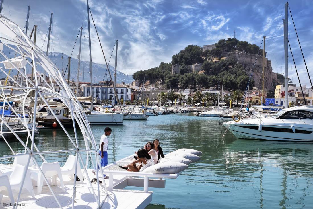 port de Dénia, costa blanca, en Espagne