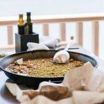 bonne paella à Dénia, sur la costa blanca, en Espagne