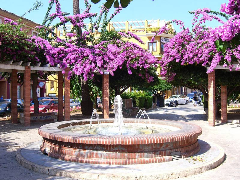 glorieta à Dénia, costa blanca, en Espagne