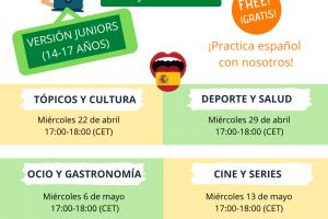 Online Spanish Workshops for teens