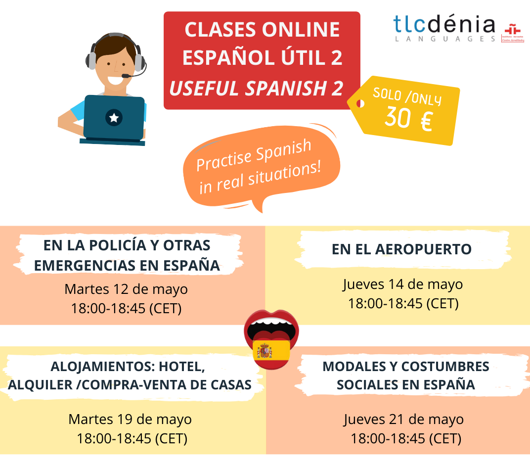 Useful Online Spanish Pack course