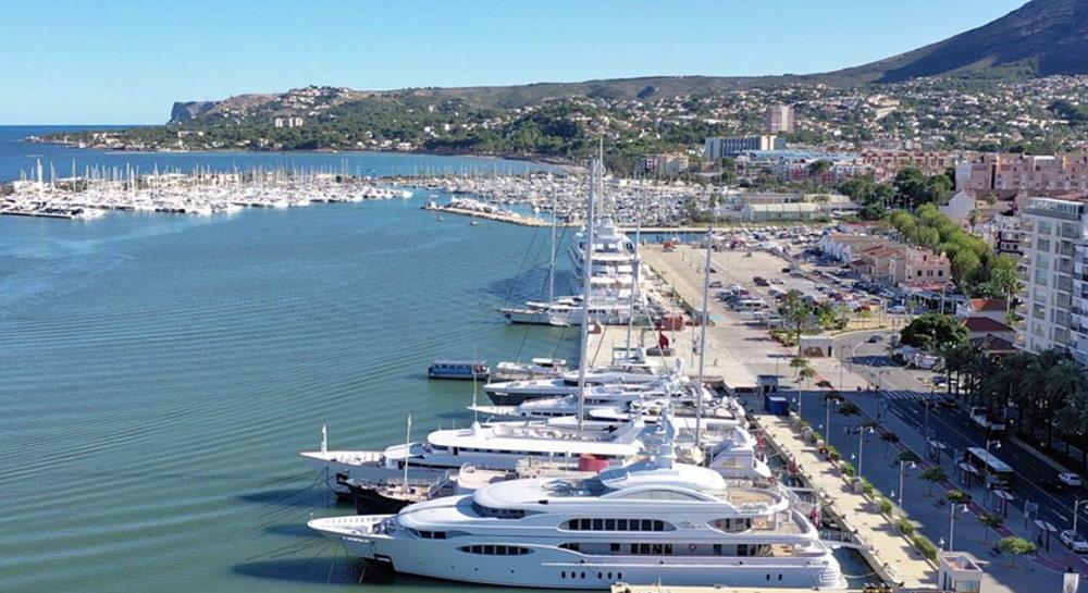 port de dénia en Espagne