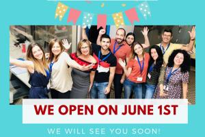 Spanish school reopening