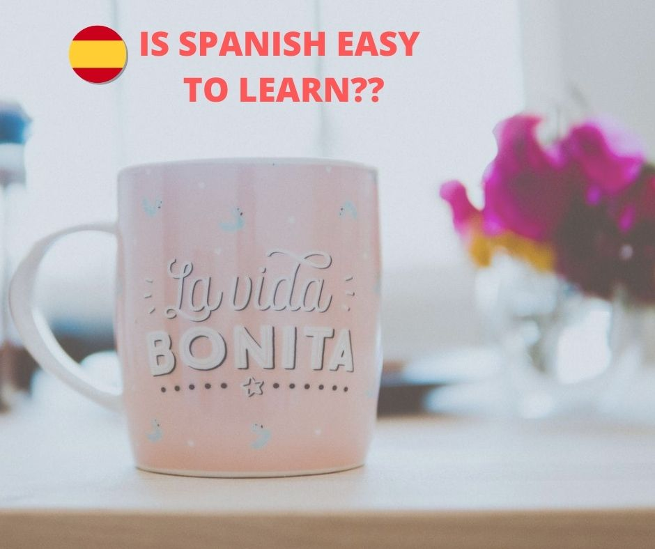 Cup of coffee with a sentence in Spanish