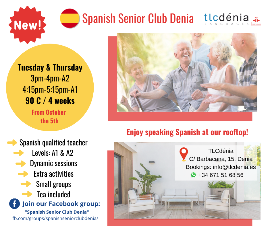 Spanish for Seniors in Denia