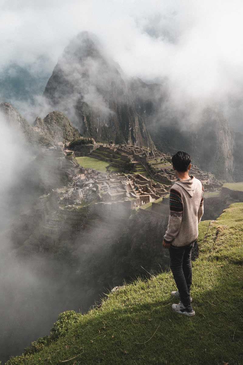 Boy in Machu PIcchu