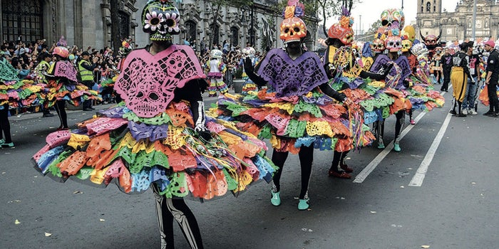 Parade in a festival
