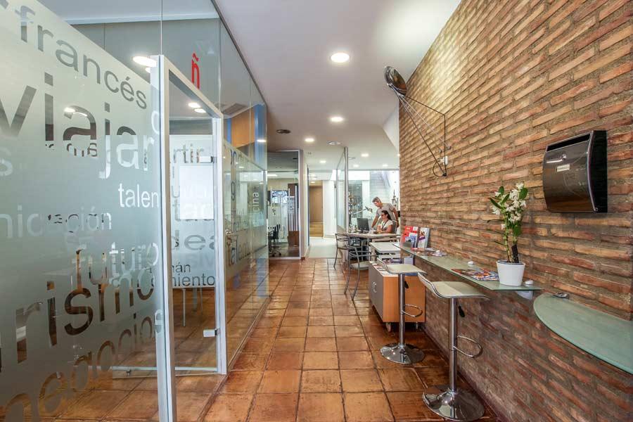 Accueil du centre espagnol