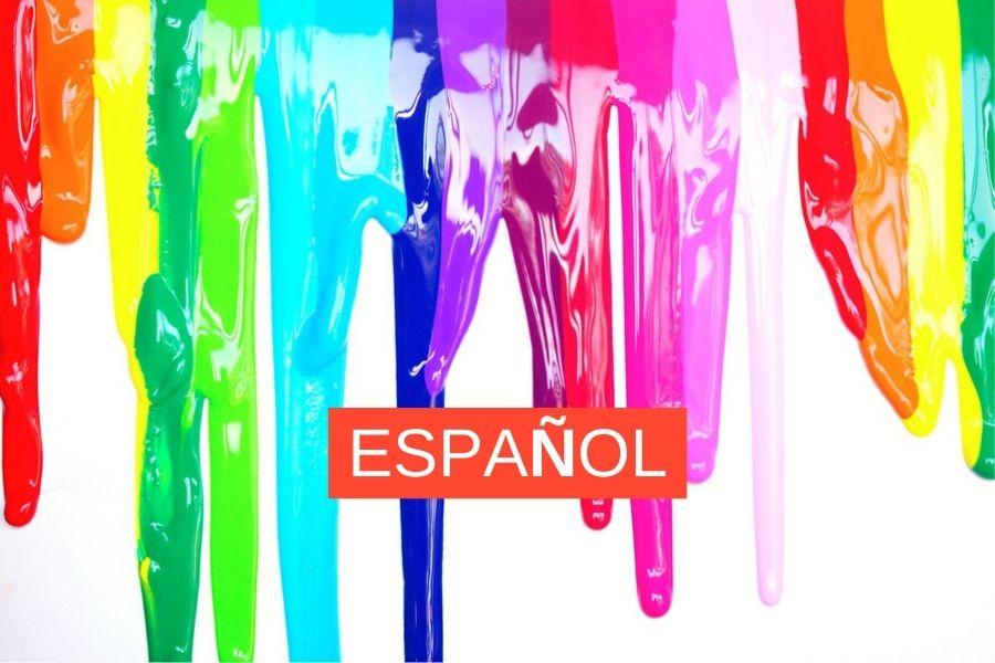 Expressions en espagnol avec les coleurs