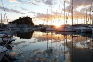 Port of Denia, destination to learn Spanish