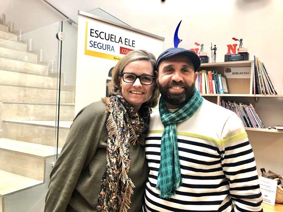 Opinion about TLCdénia school Abdel and Sabrina