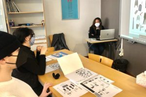 Students learning Spanish in Denia